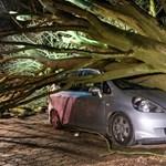106 km/órás széllel érkezett meg a Ciara ciklon – jobb, ha ön is felkészül