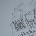 Életre szóló bérletet kap a Hertha BSC egyik szurkolója, ha vállal egy tetoválást