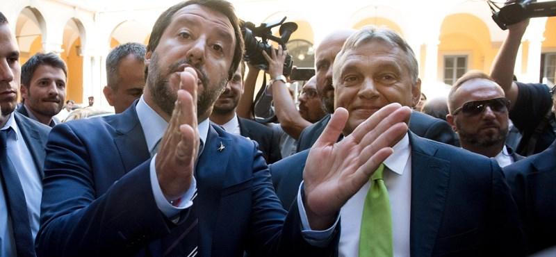 Salvini lenyomta Orbánt a Time címlapján