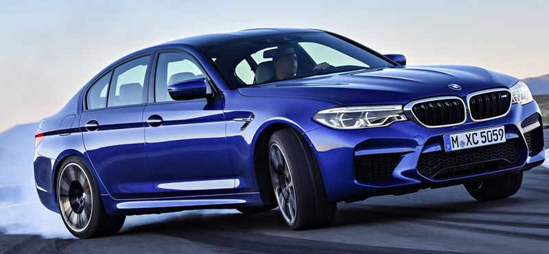 Figyelmesség: a BMW azokra is gondol, akik keveslik az új M5-ös 600 lóerejét