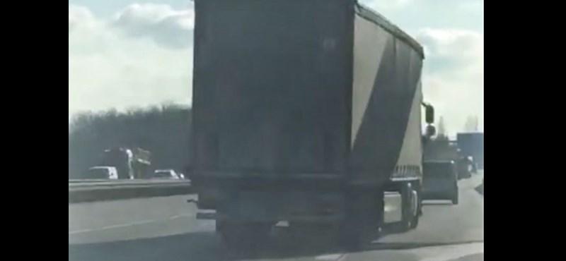 Vajon mennyire lehetett ittas ez a kamionos?