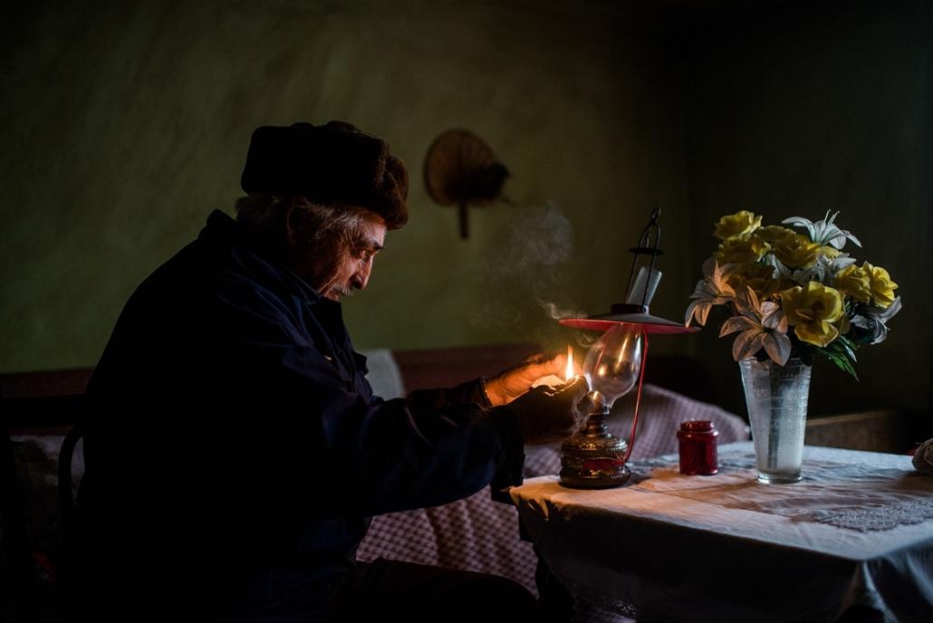 2012.12.08. - áram, villany nélkül a tanyavilágban Nagykőrörs közelében - évképei