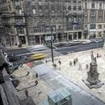 Videó a Ferenciek terén történt autós üldözésről