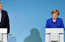 Exit poll: elvesztette az abszolút többséget Merkel bajor szövetségese