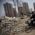 Erdő lesz a toronyházakból Sanghajban