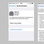 Letölthető a végleges iOS 8.3