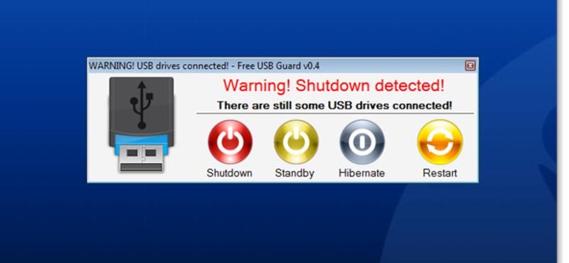 USB kulcs, DVD maradt a gépben? Figyelmezteti egy ingyenes program