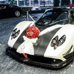 Pagani Zonda: a világ legvagányabb esküvői autója - fotók