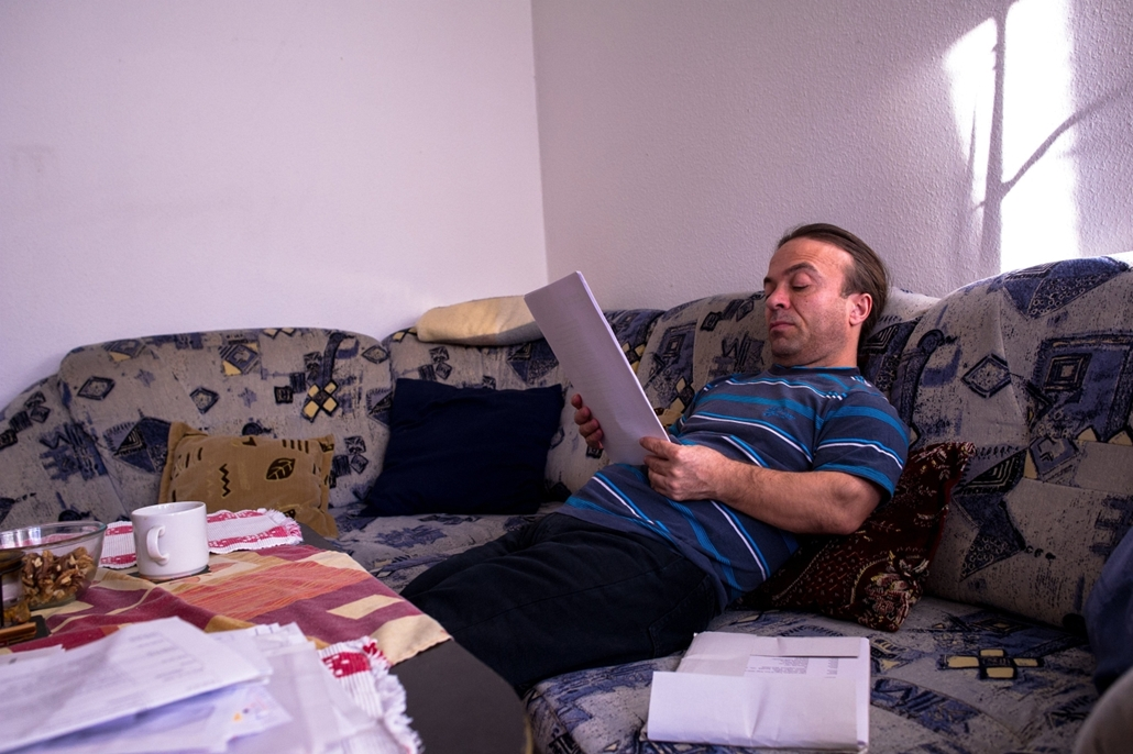 mti.16.11.29. - A fogyatékossággal élők világnapja - Köleséri Sándor színész