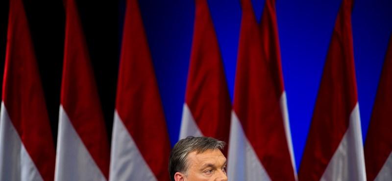 Orbán: zátonyra futott és oldalára dőlt az ország