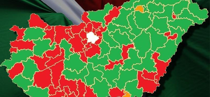 A Fidesz-tábort harapdálta az erősödő Jobbik