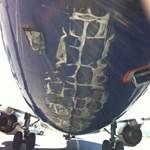 Megjavították a nyáron megsérült Malév-gépet