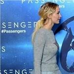 Jennifer Lawrence tényleg pulcsiban vonult a vörös szőnyegen