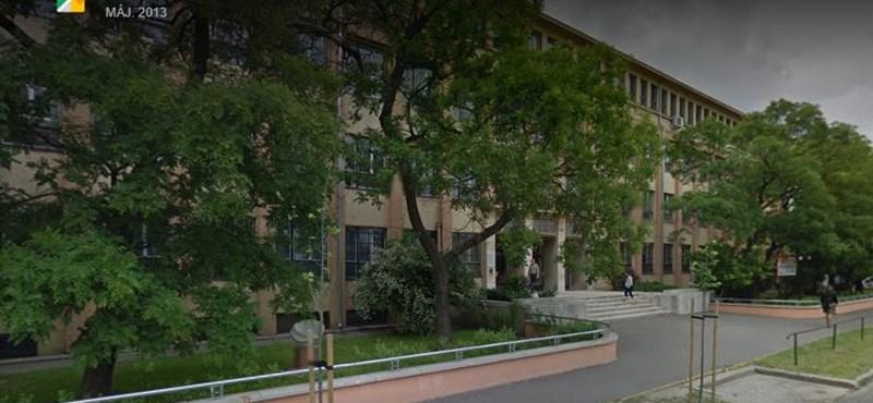 Komoly baleset történt egy budapesti gimnáziumban