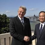 Schmitt Pál: mindkét fél számára előnyös a kínai-magyar együttműködés