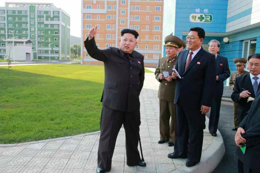 afp. hét képei - Kim Dzsong Un, 2014.10.14. Phenjan, NÉPI DEMOKRATIKUS KÖZTÁRSASÁG KOREAI