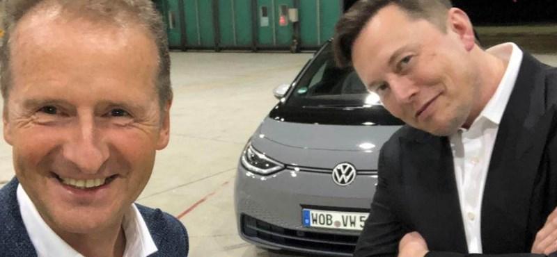"""VW-vezére szerint """"vén autógyárként"""" tekintenek rájuk a befektetők"""