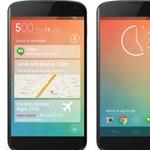 """Ragyogó koncepcióképek az """"ötös"""" Androidról"""