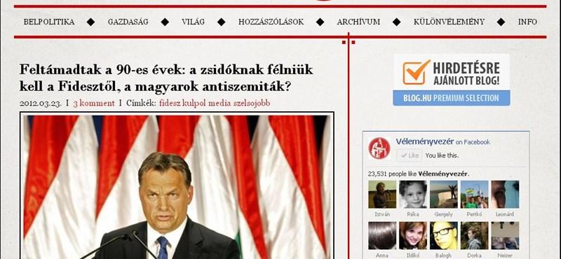 VV: a Fidesz talán nem is látja, milyen sokat árt Áder jelölésével