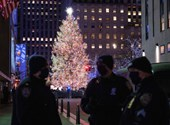 They can view the Rockefeller Center Christmas tree for four and only five minutes at a time