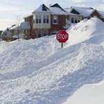 Mínusz 30 fok és temérdek hó