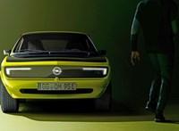 Az Opel retró villanyautóként támasztotta fel a legendás Mantát