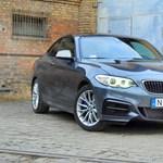 BMW M240i-teszt – jól álcázott brutalitás