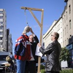 Fotó: akasztófát állított a Jobbik Debrecenben
