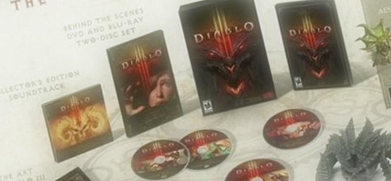 Diablo III gyűjtői kiadás – lássuk, mi lesz benne?