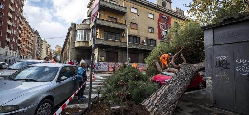 Az időjárás úgy döntött, hogy kikészíti Olaszországot