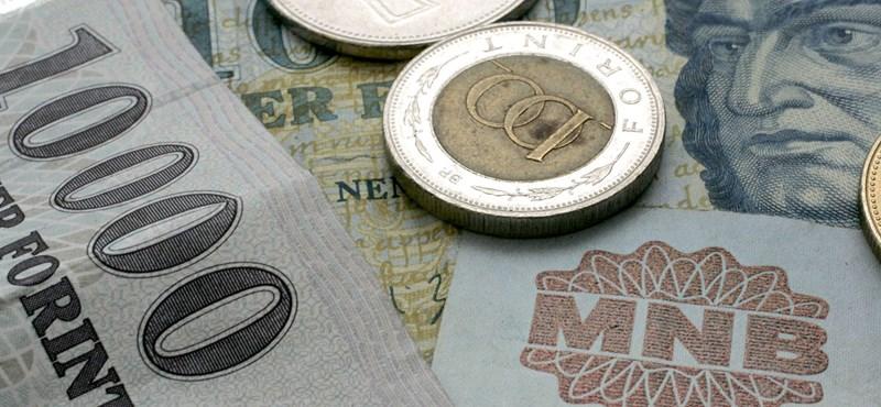 364 ezer forint a bruttó átlagkereset