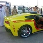 Elirigyelte a dubaji tűzoltóság a rendőrség szuperautóit