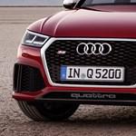 450 lóerős kompakt divatterepjáró: hamarosan itt az Audi RS Q5