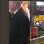 A baknak ütközött egy vonat Londonban