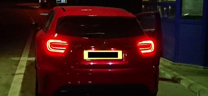 Kisszombornál lopták volna ki az országból a szemrevaló Mercedest