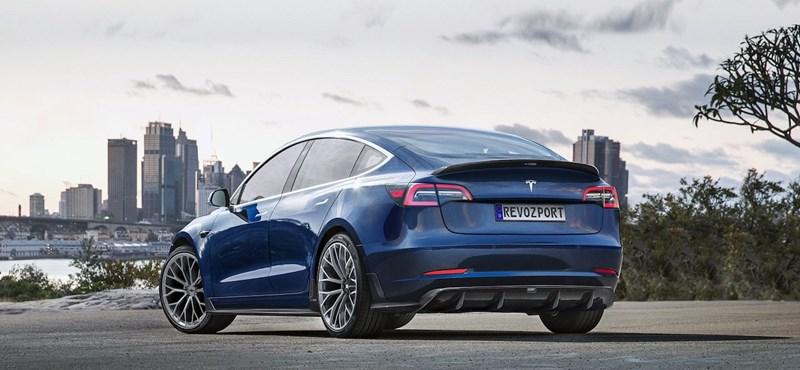 Igazán jót tesz egy kis finom tuning a Tesla Model 3-nak
