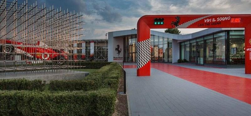 A Ferrari is bezárkózott a koronavírus elől