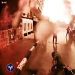 Videó: Elképesztő hatékonysággal emelik ki Izraelben a tüntetések hangadóit