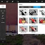 Frissült a Photoshop Touch: új effektek, bővülő lehetőségek