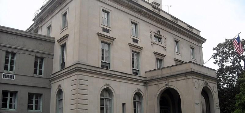 Csaknem négymilliárdért újítják fel a washingtoni nagykövetséget