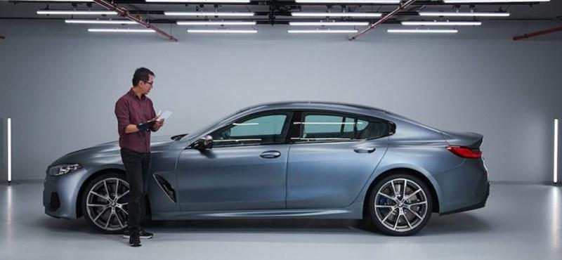 Kiszivárgott stúdiófotók: íme a BMW 8-as Gran Coupe