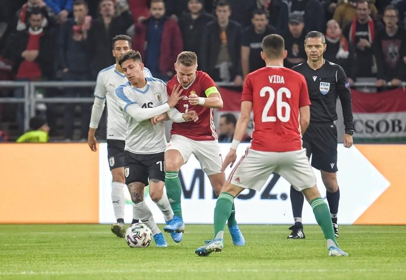Magyarország-Uruguay - stadionavatás percről-percre