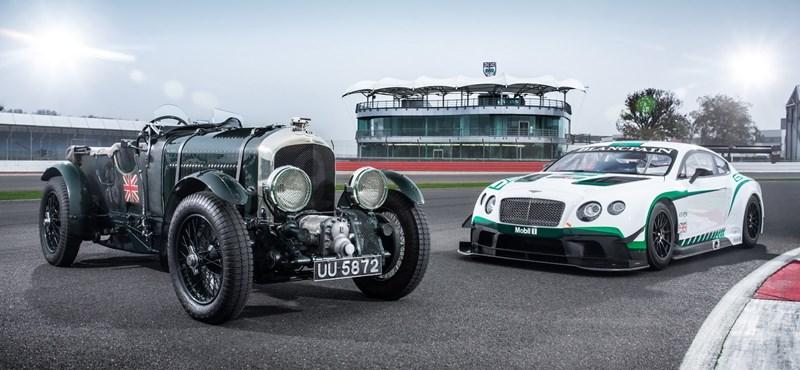 85 év után hozta össze a Bentley ezt a két legendát, nem véletlenül
