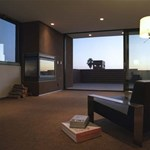 Kaliforniai lakóház: szögletes, minimalista és nagyon elegáns
