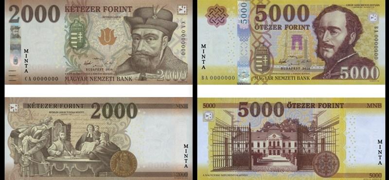 Ne lepődjön meg, ha ilyen bankjegyek kerülnek a kezébe