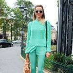 Street Fashion: Egyszínű Párizs