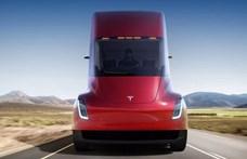 Jön az 1000 kilométeres hatótávú Tesla villanykamion