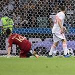 Fordulatos meccset játszott, de nem bírt egymással Spanyolország és Portugália