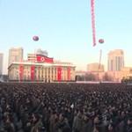 Nem szerénykedtek az ünnepléssel Észak-Koreában a rakétateszt után