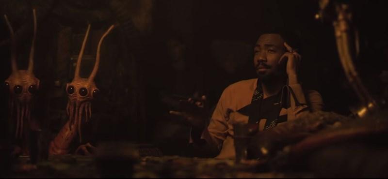 Itt az új Solo-előzetes, amiből kiderül, hogyan találkozott Han és Lando – videó